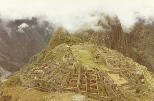 Machu Pichu - The lost Inca city!